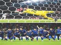 England vs Italy Euro 2020 Final : इटली ने पेनल्टी शूट आउट में इंग्लैंड को हराकर जीता खिताब