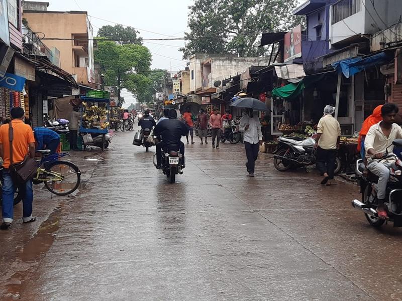 Rain In Madhya Pradesh : झमाझम बारिश से महाकोशल व विंध्य में नदी-नाले उफान पर