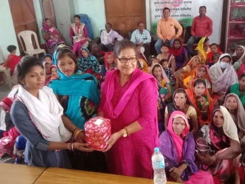 Namo Devye Maha Devye: सीमा प्रकाश ने कुपोषित बच्चों को दिलाया भोजन का अधिकार