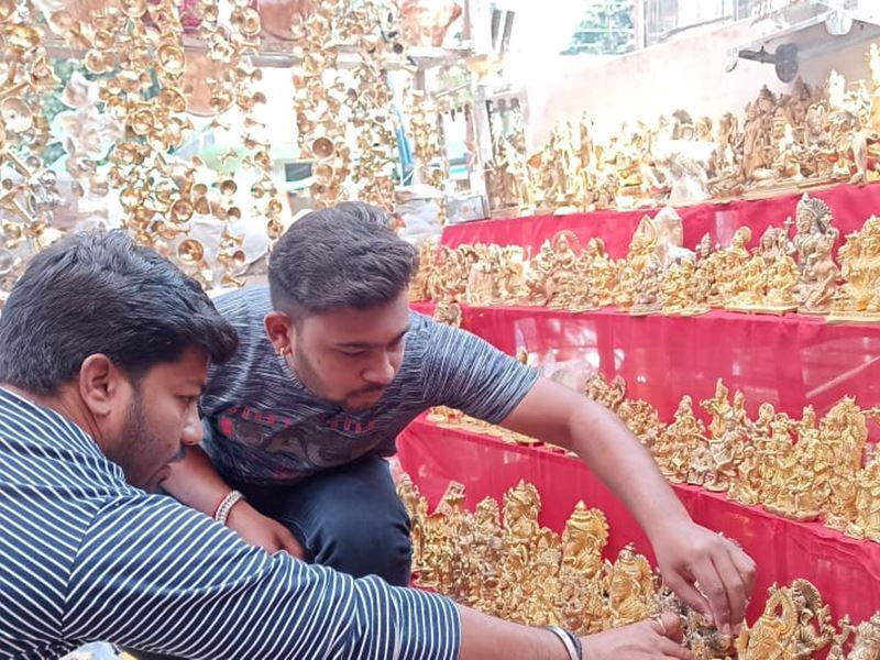Dhanteras 2020: खंडवा में दो दिन मनाई जा रही धनतेरस, सुबह से शुरू हुई खरीददारी