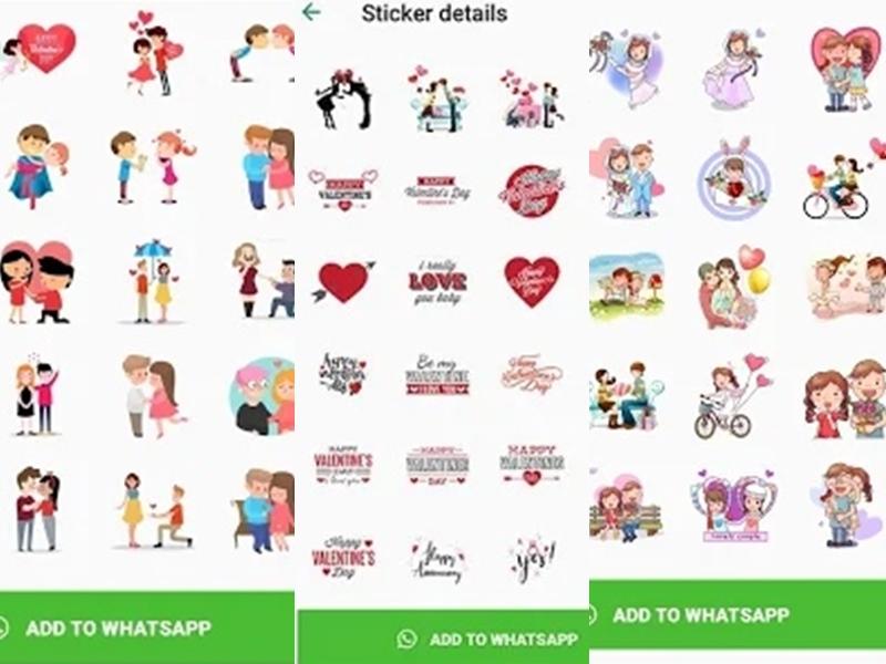 Valentine Day 2020: आज उन्हें दें ऐसा सरप्राइज, आपकी और उनकी तस्वीरों से बना WhatsApp Sticker सेजानिए क्या है तरीका