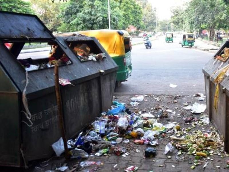 Jabalpur News: लाकडाउन में सफाई बंद, नहीं आ रही कचरा गाड़ी