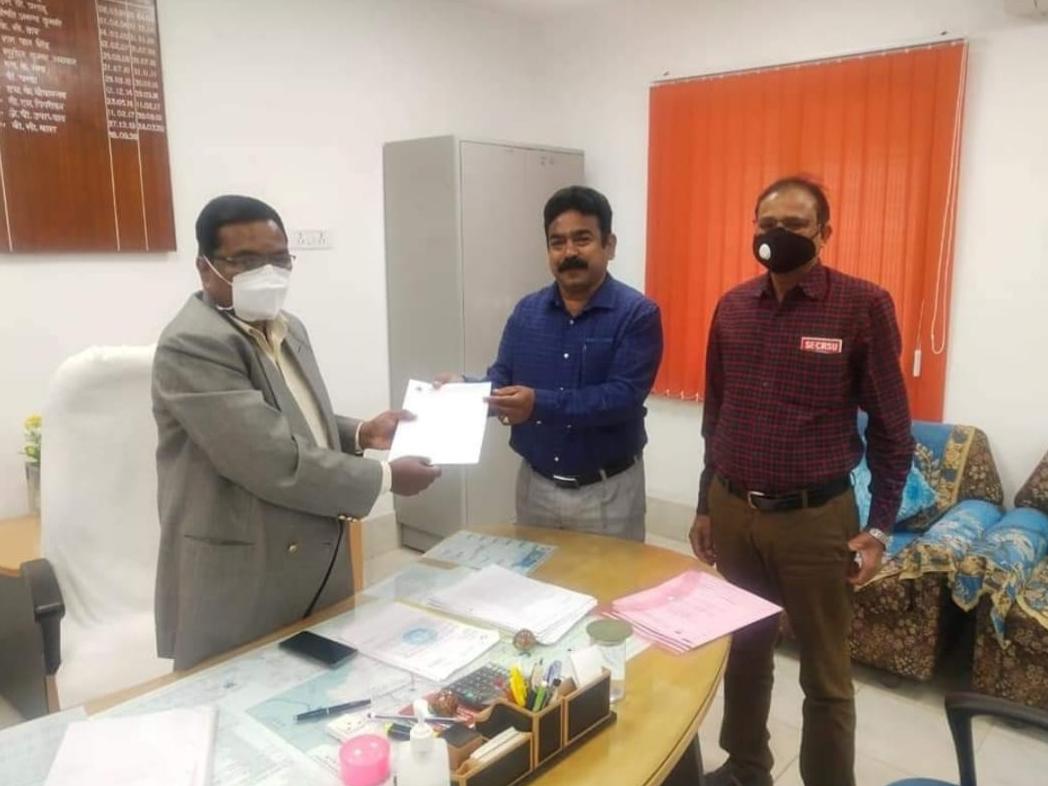Bilaspur Railway News: छोटे स्टेशनों में कार्यरत कर्मचारियों की ली सुध, मांगी स्वास्थ्य सुविधाएं