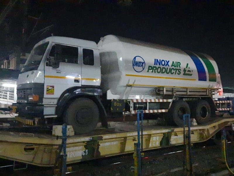 Jabalpur News: 10.81 मीट्रिक टन लिक्विड ऑक्सीजन की खेप पहुंची जबलपुर