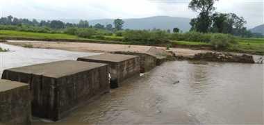 स्टाप डैम का पुल ढहने की एसडीएम ने मांगी जानकारी