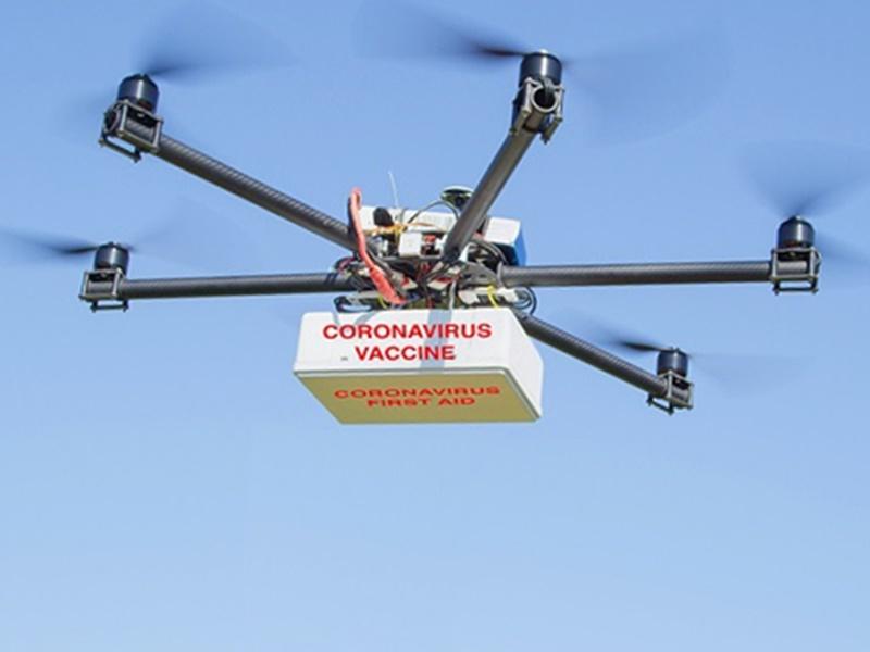 Corona: ड्रोन की मदद होगी Vaccine की सप्लाई, दुर्गम इलाकों में टीका पहुंचाने की योजना