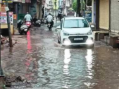दुर्ग जिले में येलो अलर्ट जारी, 61 मिमी हुई बारिश