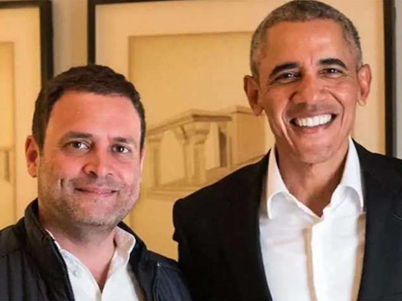 Barack Obama on Rahul Gandhi: In the book, he mentions Sonia Gandhi, Rahul Gandhi and former Prime Minister Manmohan Singh.