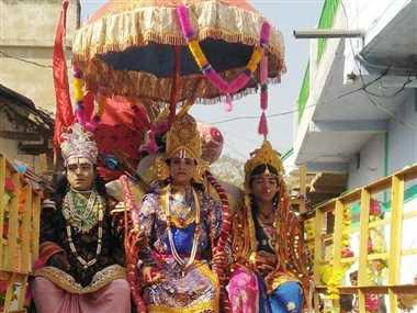 मकर संक्रांति पर होगा अभिषेक, 20 हजार दीप से होगी आरती, राम जानकी की झांकी