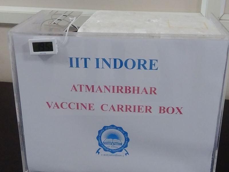 Covid Vaccine Indore News: वैक्सीन परिवहन के लिए आइआइटी इंदौर ने विकसित किया बॉक्स, बिना बर्फ टीके को रखेगा ठंडा