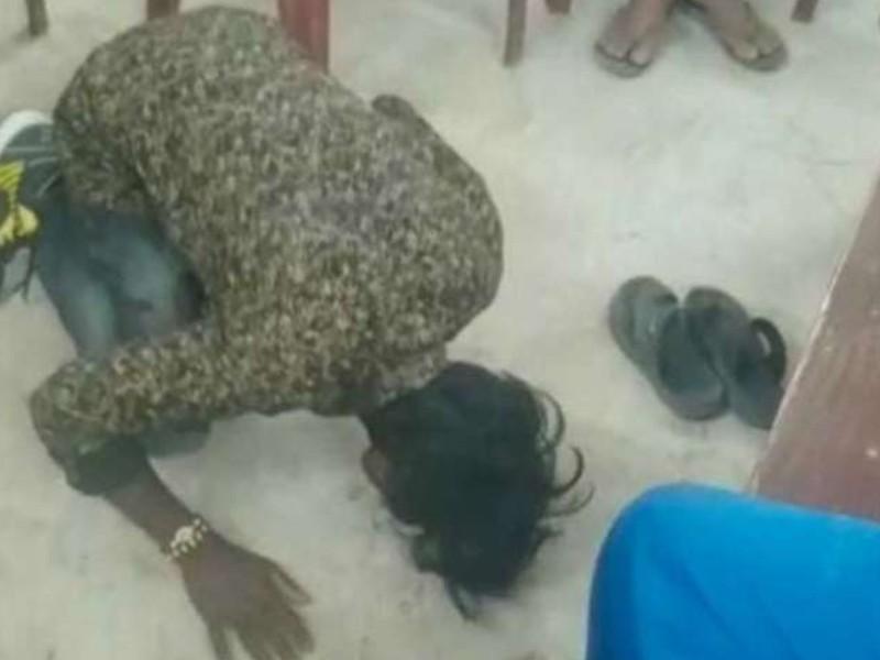 Bihar में युवक के साथ अमानवीयता, लड़की भगाने के आरोप में पंचायत ने जबरन थूक चाटने पर मजबूर किया