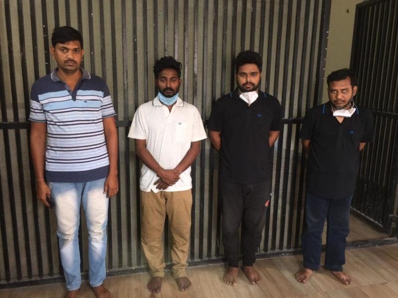Gold Thief: लाखों का सोना चुराने वाले चार शातिर डेढ़ साल बाद कानपुर से गिरफ्तार