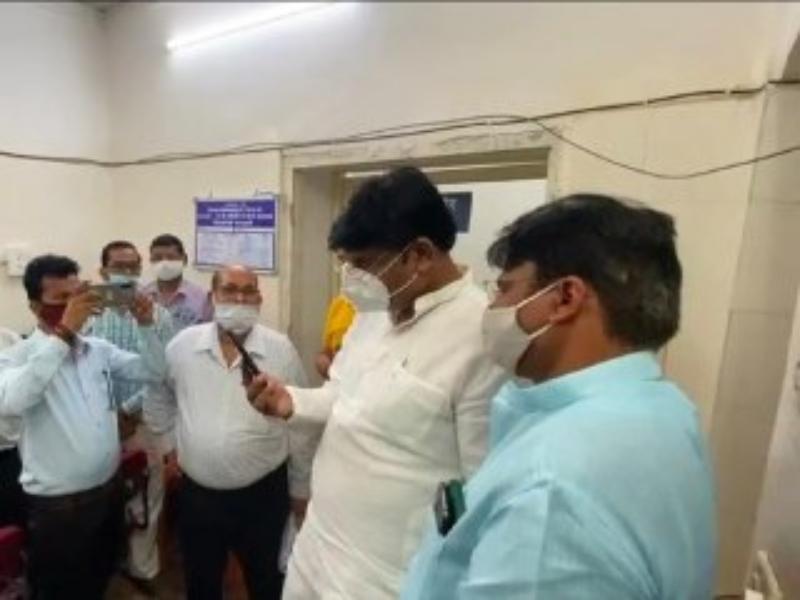 भिंड विधायक संजीव सिंह संजू कोरोना पाजिटिव, कल ही समीक्षा बैठक में हुए थे शामिल