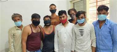 तस्करों से मिले सुराग, आठ गिरफ्तार, दो दिन की पुलिस रिमांड पर