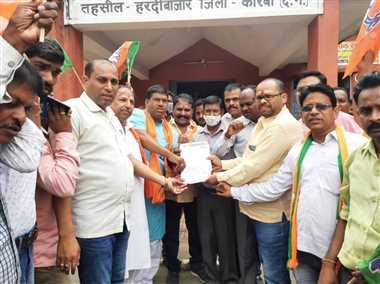 प्रदेश सरकार किसानों से कर रही किया छलावाः भाजपा