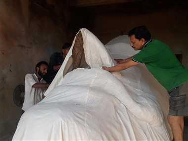 51 फीट के रावण के पुतले का होगा दहन, ब्यावरा नाके से वाहन रहेंगे प्रतिबंधित