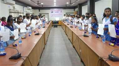 लाड़ली लक्ष्मी उत्सव कार्यक्रम का किया गया सीधा प्रसारण