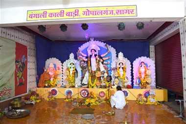 जवारों के साथ आज होगा दुर्गा प्रतिमाओं का विसर्जन
