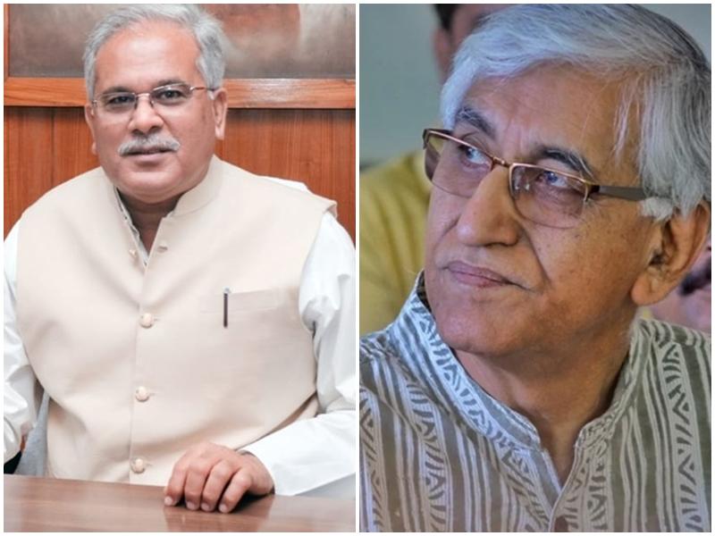 Political Struggle In Chhattisgarh: सत्ता संघर्ष में सीएम बघेल को प्रियंका, तो सिंहदेव को राहुल का साथ