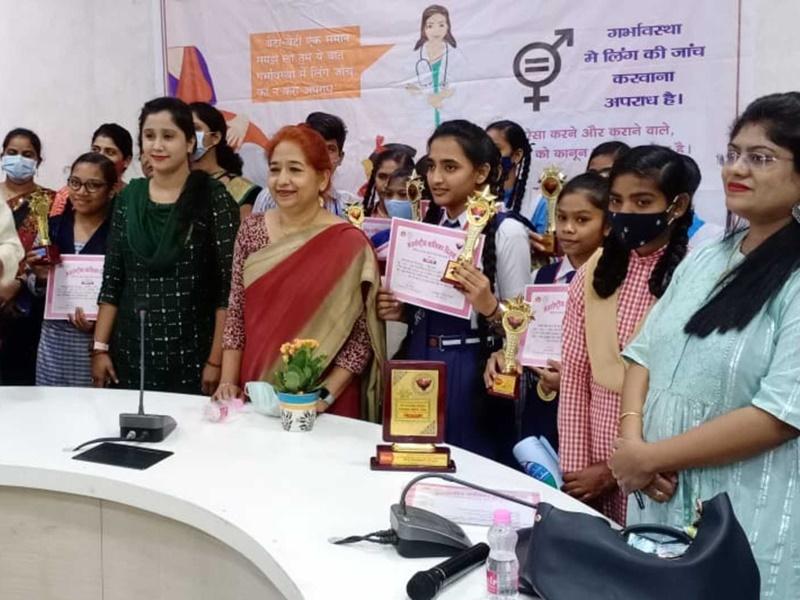 Health Awareness In Raipur: डा. मीरा बघेल बोलीं- 11 से 19 आयु की किशोरियों की हीमोग्लोबिन जांच जरूरी