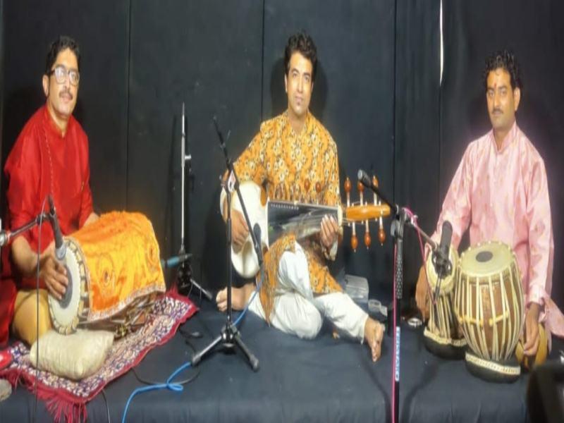 Bhopal Arts and Culture: सरोद वादन के बाद कथक की प्रस्तुति ने मोहा मन