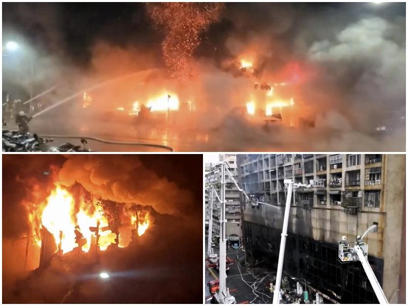 Taiwan Fire : दक्षिणी ताइवान की एक रिहायशी बिल्डिंग में लगी भीषण आग, 46 लोगों की मौत, 50 से अधिक झुलसे