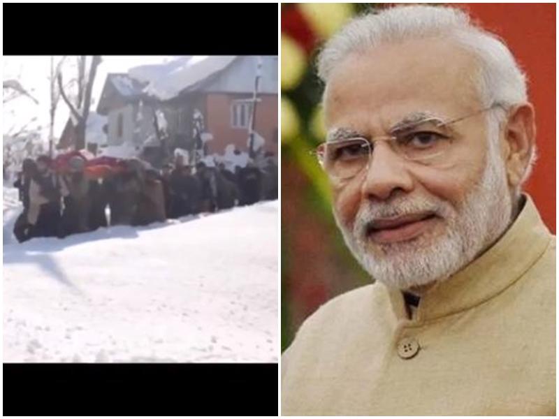 भारी बर्फबारी के बीच सैनिकों ने गर्भवती महिला को पहुंचाया था अस्पताल, PM मोदी ने शेयर किया Video