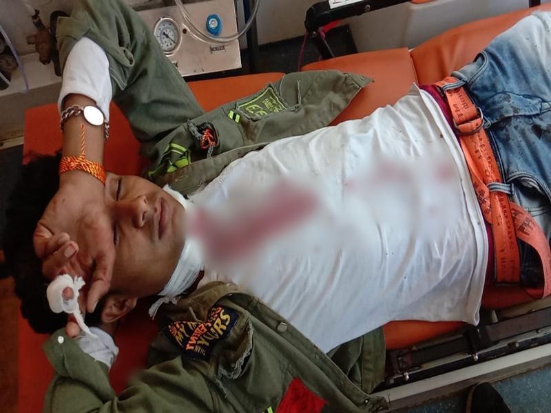 Ujjain News: बाइक पर जा रहे युवक का चाइना डोर से गला कटा, 20 टांके लगाना पड़े