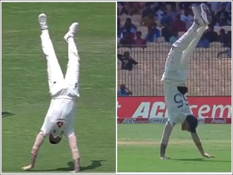IND vs ENG : चेन्नई टेस्ट में बेन स्टोक्स ने दिखाए करतब, देखें 23 सेकंड का यह रोचक वीडियो