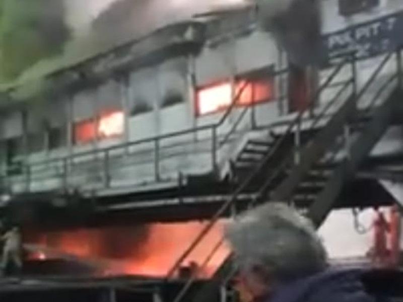 Fire In Bsp: भिलाई इस्पात संयंत्र के रेल मिल में लगी भीषण आग, रेल पटरी उत्पादन प्रभावित