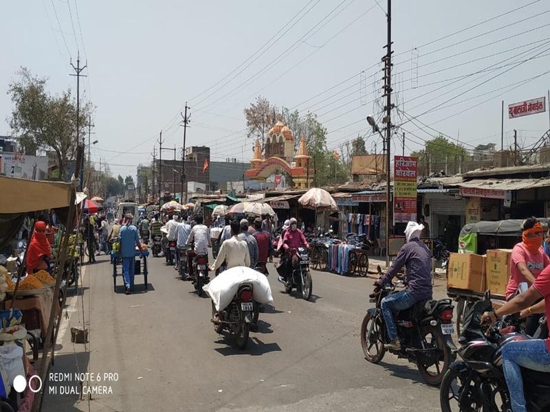 Corona Curfew in Khandwa: खंडवा में आज रात 9 बजे से 23 अप्रैल तक रहेगा कोरोना कर्फ्यू