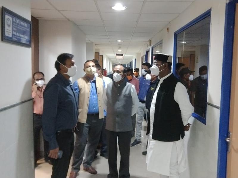 Coronavirus Bhopal News: एम्स में कोरोना मरीजों के लिए होगा 165 बिस्तर का आइसीयू