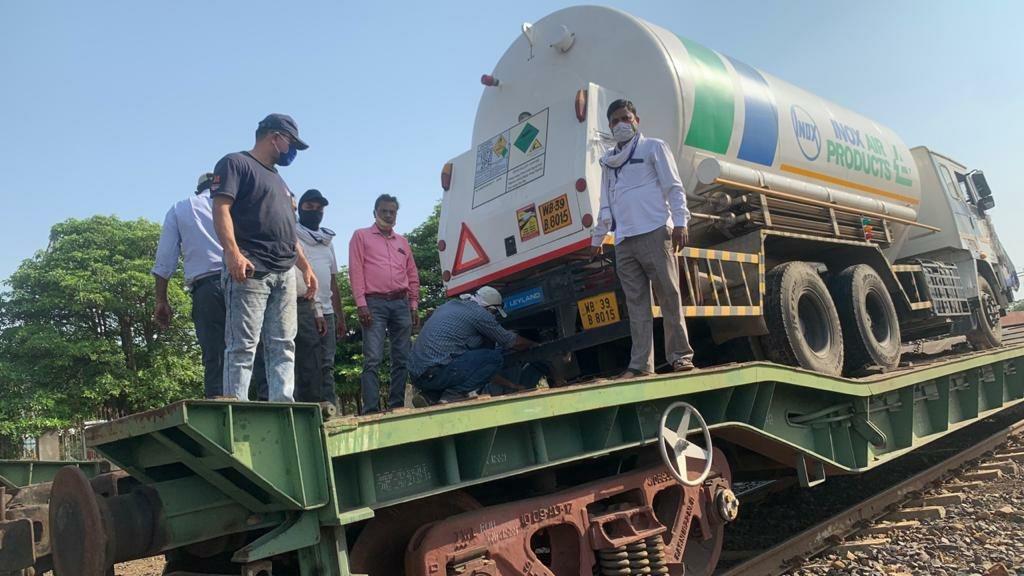 Oxygen supply in jabalpur : जबलपुर समेत प्रदेशभर में रेलवे ने पहुंचाई 408.15 मीट्रिक टन आक्सीजन