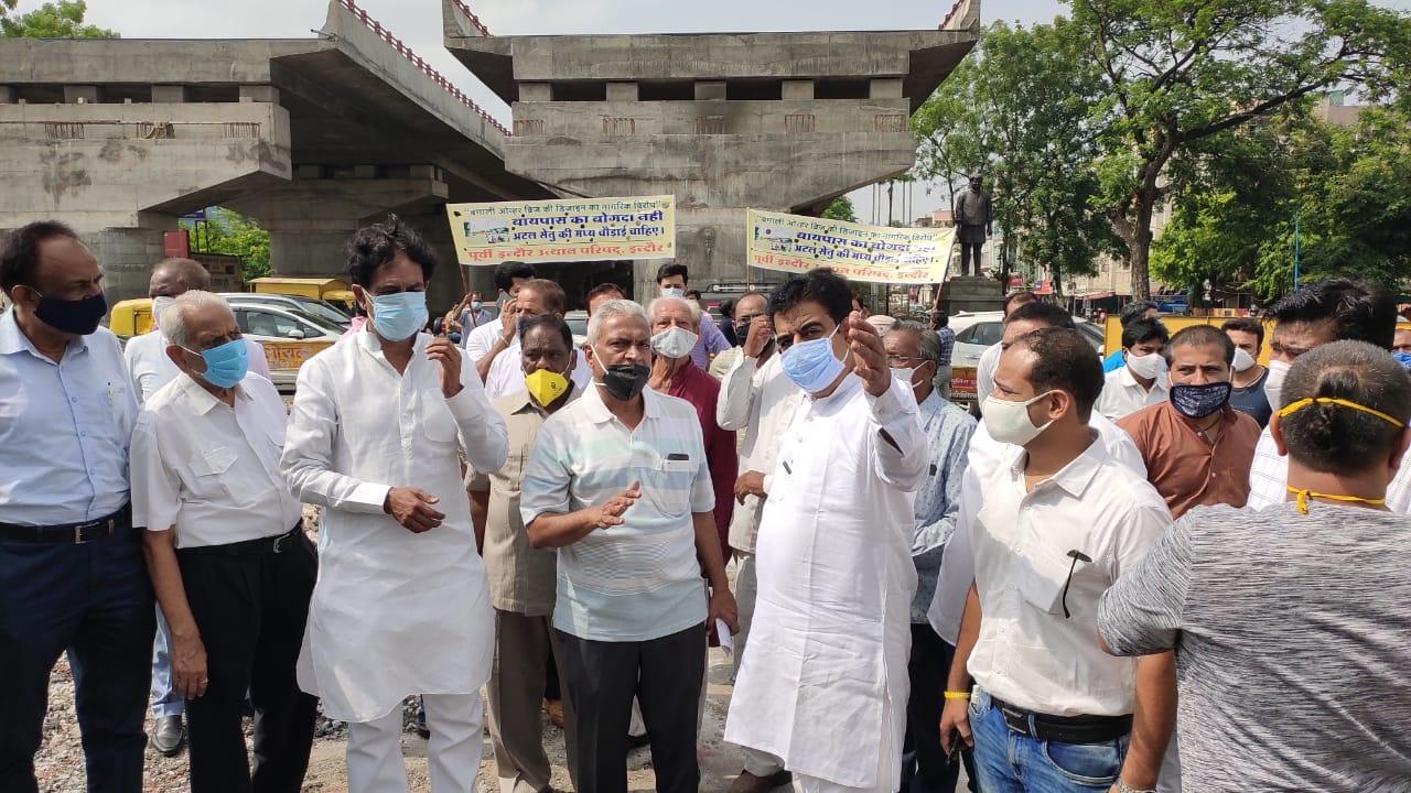 Indore News: बंगाली फ्लाई ओवर को लेकर बुधवार को मंत्री अफसरों से करेंगे बात