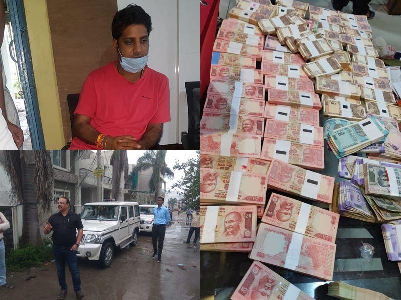 बड़नगर के प्रभारी सीएमओ के तीन घरों पर छापे, साढ़े पांच करोड़ की संपत्ति मिली, देखे VIDEO