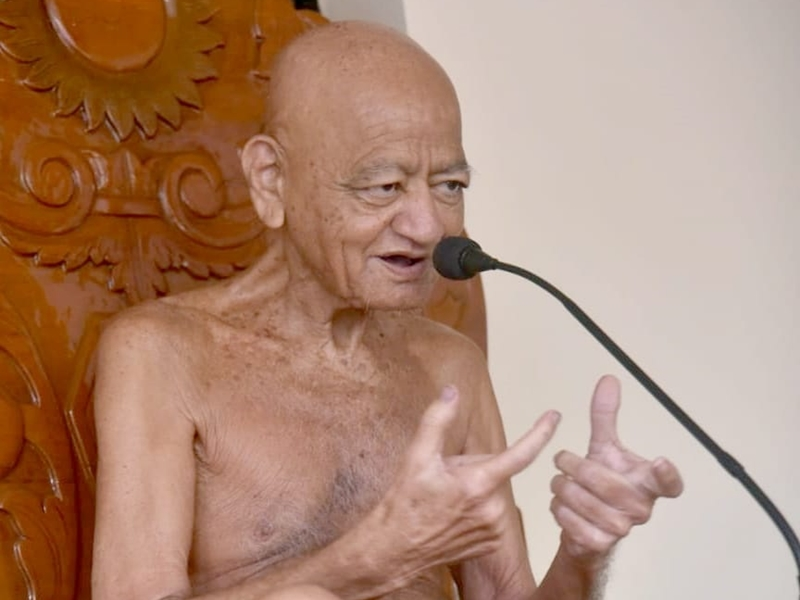 Jain Samaj News: जो संयम का पालन नहीं करता वह उपदेश नहीं दे सकता : आचार्यश्री विद्यासागर महाराज