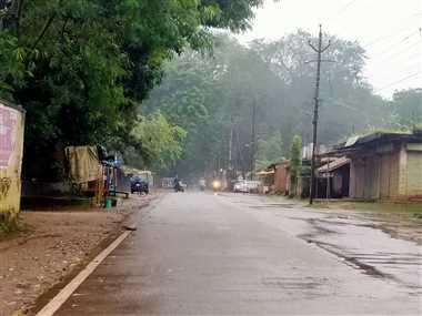 जिले में बारिश का कहर,24 घंटे में शहर में सौ मिलीमीटर बारिश दर्ज