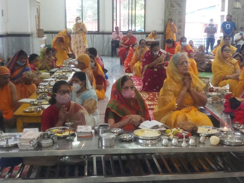 Paryushan 2021: सत्य परेशान हो सकता है पराजित नहीं, पद्मप्रभ दिगंबर जैन मंदिर में उत्तम सत्य धर्म पूजा