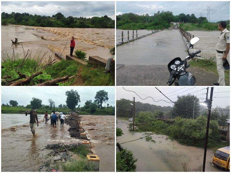 Rain in Madhya Pradesh:  महाकोशल-विंध्य में झमाझम बारिश, बालाघाट में बस्तियों में भरा पानी