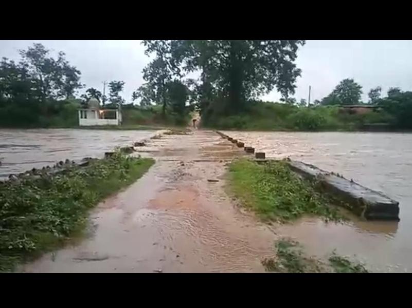 Rivers in Spate: उफान पर पेंड्रा-मरवाही-गौरेला जिले की नदियां, देखें तस्वीरें...