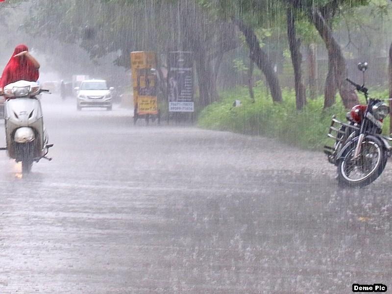Chhattisgarh Weather: प्रदेश के विभिन्न क्षेत्रों के लिए रेड, आरेंज व यलो अलर्ट जारी