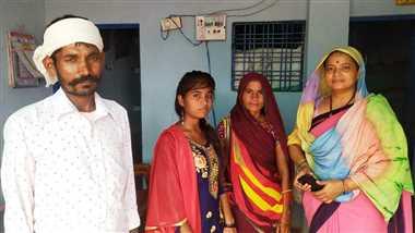 563 बेटियों के खाते में भेजी 14.82 लाख की छात्रवृति
