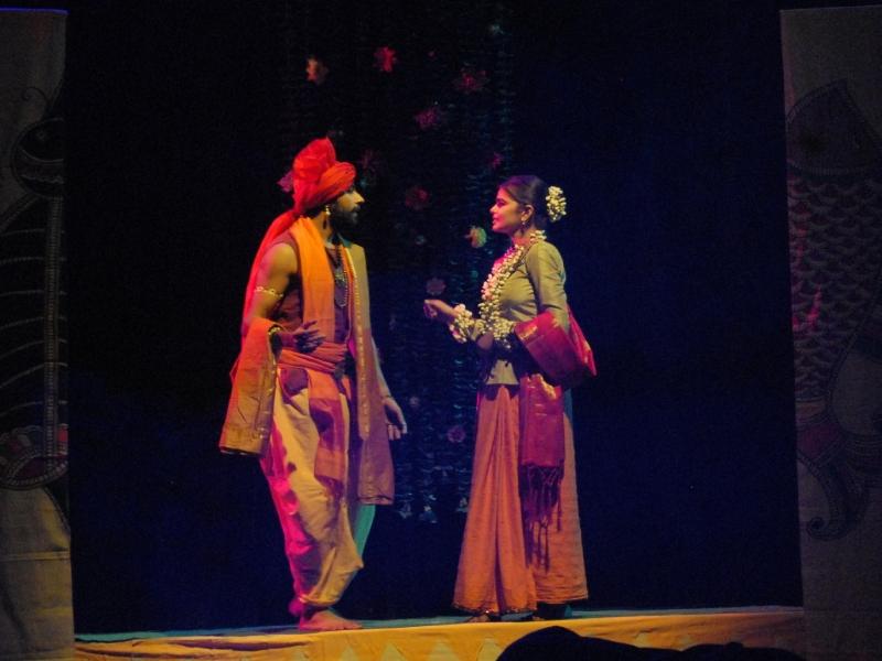Bhopal Art News: 'नेपथ्य में शकुंतला' से दर्शकों ने जाना जिंदगी का फलसफा