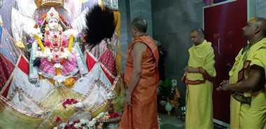 घर-घर पूजा-आराधना कर श्रद्घालु कर रहे महामारी जल्द खत्म करने देवी से प्रार्थना