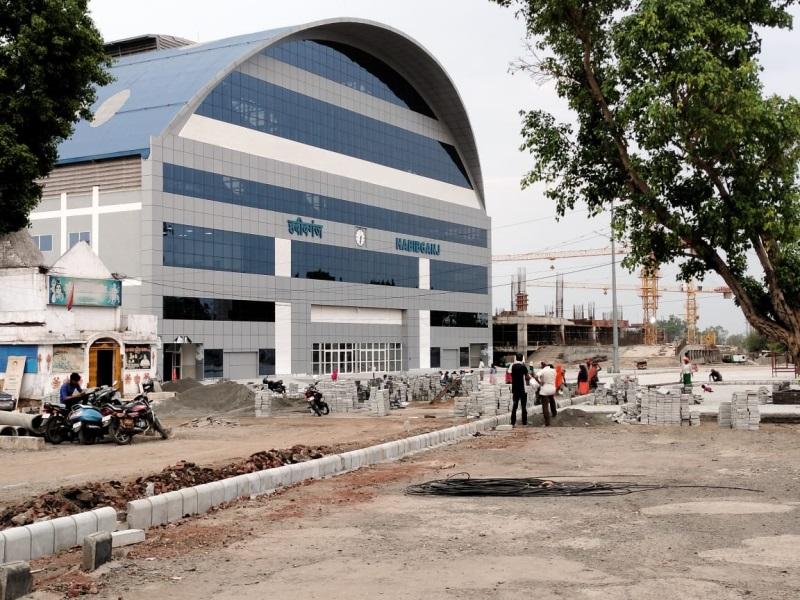 Bhopal Railway News: हबीबगंज स्टेशन का एयर कॉन्कोर भी तैयार, बस पार्किंग का काम बाकी