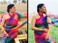 Sapna Chaudhary ने खेतों में कराया बिंदास फोटोशूट, फैंस के दिल को छू गया उनका ये अंदाज