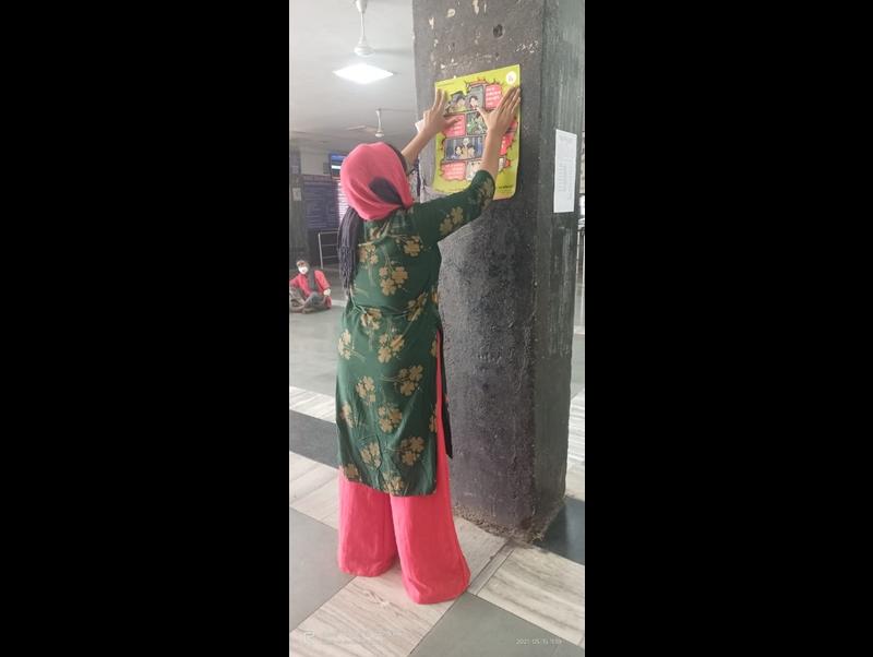 Bilaspur  News: स्टेशनों में पोस्टर लगाकर चाइल्ड लाइन दे रही आश्रय देने की सूचना