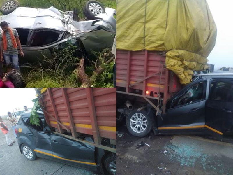 Road Accident in MP: मध्य प्रदेश में अलग-अलग हादसों में 4 की मौत, 24 घायल