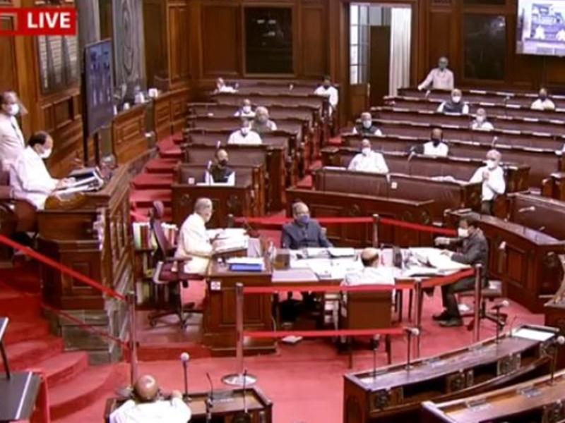 LIVE Parliament Monsoon Session: कोरोना पर चर्चा के बाद राज्यसभा की कार्यवाही गुरुवार तक के लिए स्थगित