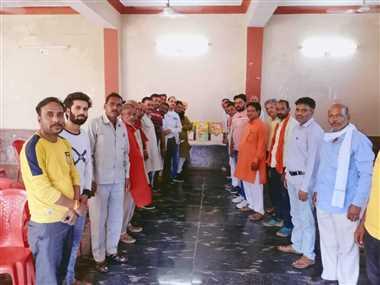 शिवपुरीः बूथ स्तर पर पहुंचे सेवा और समर्पण का भावः जयप्रकाश सोनी